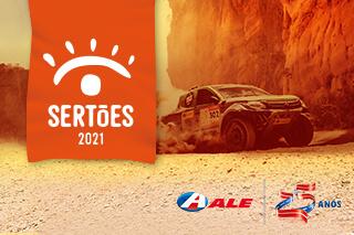 ALE is a sponsor of Sertões 2021